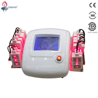 Laser liposuction treatment machine for home use