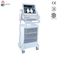 2018 best price portable hifu wrinkle removal face lift high intensity focused ultrasound hifu machine