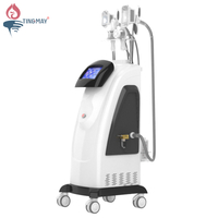 Vertical Cryolipolysis system cryo lipolysis vacuum cavitation rf lipo laser slimming machine