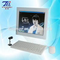 Portable hair and skin analyzer machine