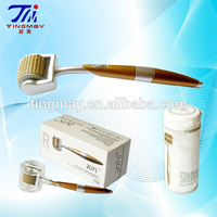 Microneedle dermal roller Titanium microneedle derma face lift