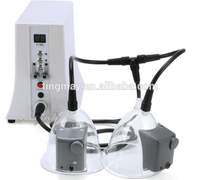 Professional vacuum pump breast suck butt lifting enlargement machine.