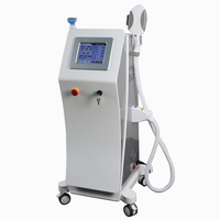 Fractional RF two handles vertical elight IPL SHR Fast Hair Removal beauty machine wholesale ipl hair removal