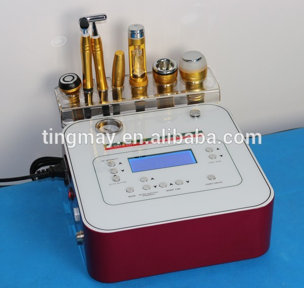 7 in 1 dermabrasion no needle mesotherapy machine for facial care and skin whitening