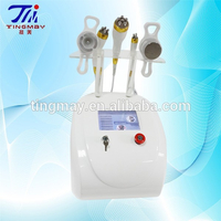 Vacuum cavitation rf for face and body,5 in 1 vacuum ultrasonic liposuction machine