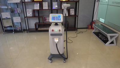 Professional hot vertical permanent 808 diode laser hair removal machine