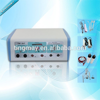 Electric hair follicle stimulator/ultrasonic face lift home use beauty equipment