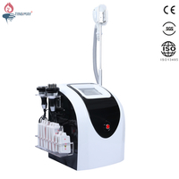 2018 Hot selling Spa use smooth shape cryolipolysis 40K cavitation rf lipolaser machine for sale