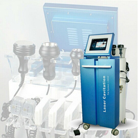 Multifunction salon Vacuum cavitation system rf+lipo laser slimming machine
