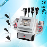 TM-913 lipo laser vacuum cavitation multipolar rf fat burning machine