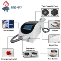 medical spa equipment!! powerful q switch nd:yag laser tattoo removal beauty machine