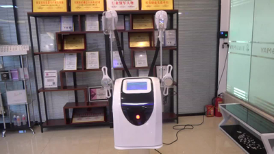 China manufacturer 2 cryo handles work toghter cryolipolysis cavitation RF slimming machine