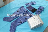 Portable body air pressure pressotherapy suit slimming machine