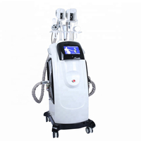 New mode kryolipolyse cool cryolipolise fast fat freeze slimming machine with 40K cavitation an multi-polar rf for body and face