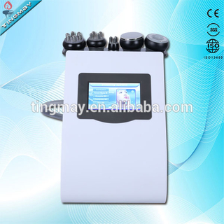 cavitation tripolar multipolar bipolar rf machine/ultrasonic rf vacuum cavitation machine/cavitation rf