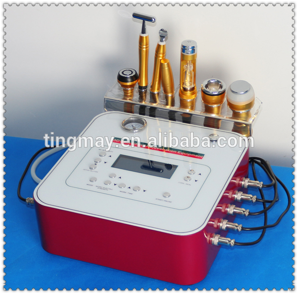 6D home galvanic facial machine price no needle mesotherapy cooling radio frequency rf lifting eye spa super skin care machine
