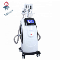 Professional cryolipolysis vacuum cavitation rf lipo laser slimming machine