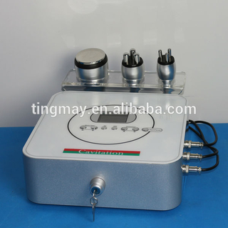 Cavitation tripolar radio frequency