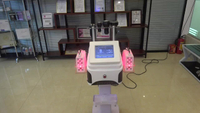 Portable Rf vacuum cavitation system lipo laser weight loss beauty salon equipment