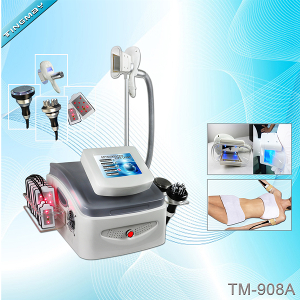 TM-908A Cryolipolysis vacuum rf cavitation lipo laser combination