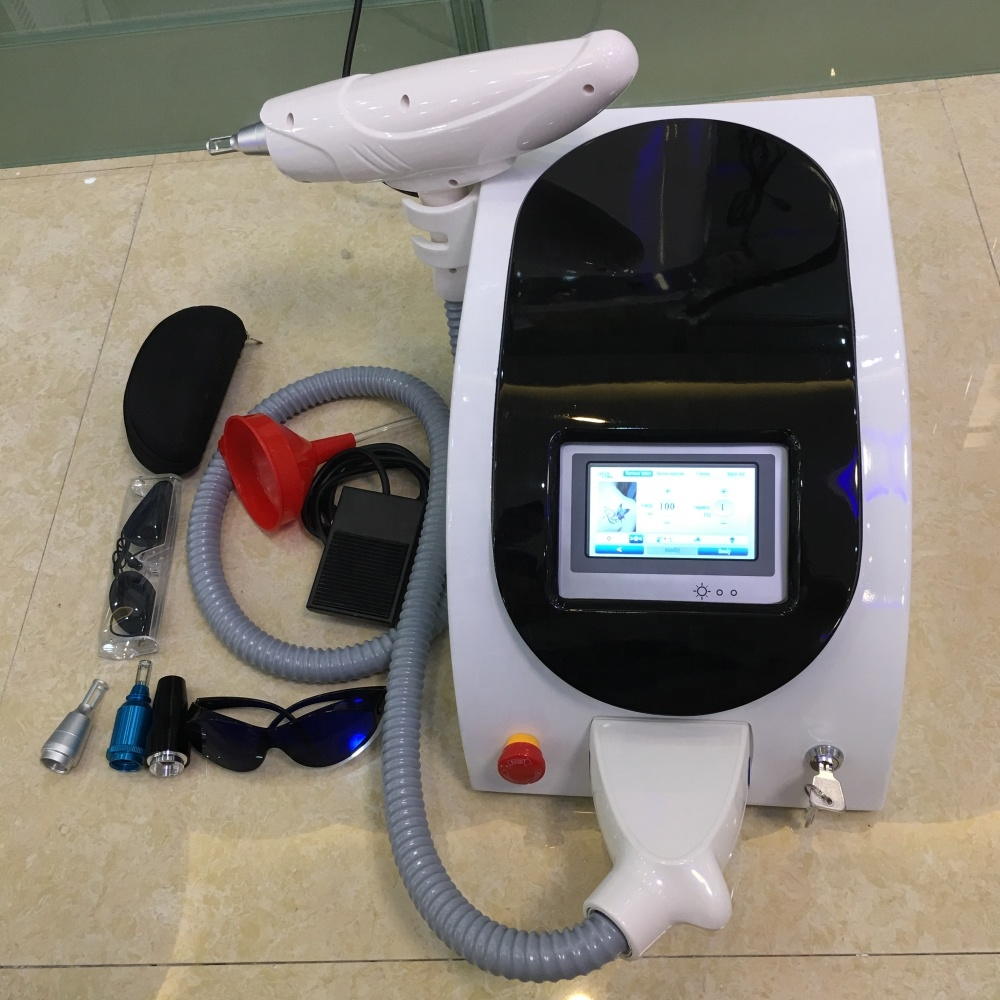 2019 Portable Q-Switch nd yag laser tattoo removal machine factory price
