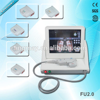 portable hifu machine for face and body with 5 cartridges