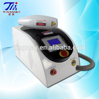 Tattoo removal q switched nd yag skin care laser machine
