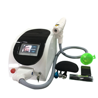 infrared guidance laser gun touch screen nd yag laser tattoo removal machine