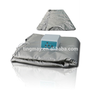 Popular 3 zone far infrared sauna blanket sauna thermal blanket for weight loss and slimming