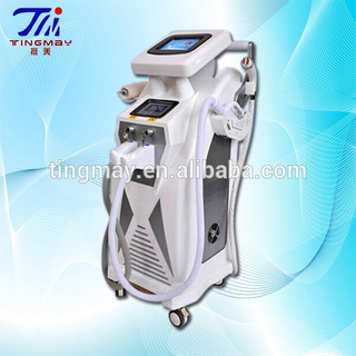 Elight/ipl/rf/nd yag laser hair removal machine