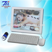 2015 New generation English system portable skin analyzer machine with touch screen and keyboard