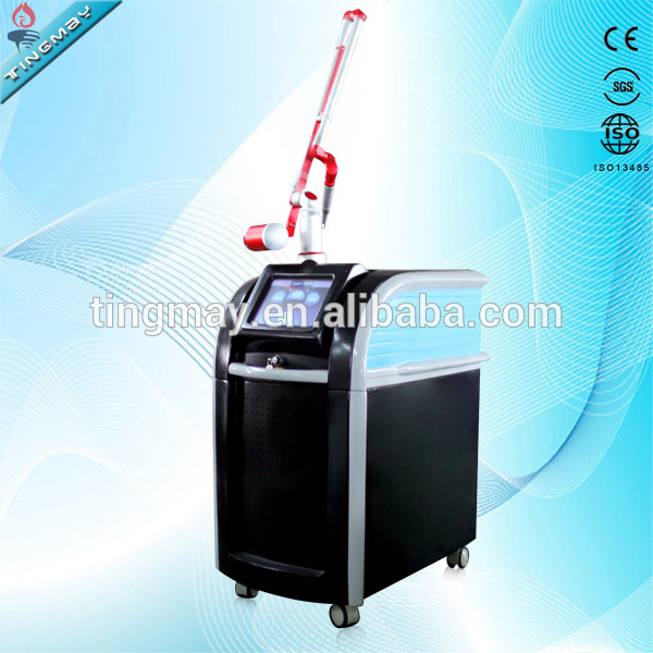 1064nm 532nm 755nm spots removal laser picosecond For Tattoo Removal / Freckle Removal