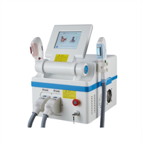 new technology shr opt with 2 handpieces hair removal machine shr