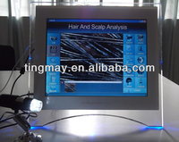 Hair scanner skin and hair analyzer