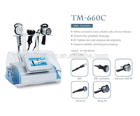 Portable weight loss cavitation rf vacuum cavitation fat burning machine