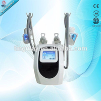 hot sale two handles vaccum cavitation system type cryolipolysis machine for body slimming