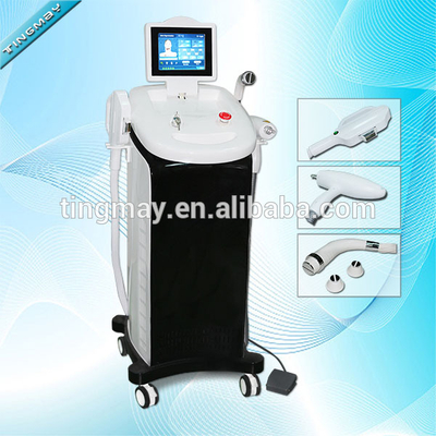 Professional 3 in 1 Tattoo Laser OPT SHR RF IPL hair removal machine With CE