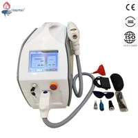 new design 10hz 2000mj big screen multi-language nd yag laser tattoo removal laser machine