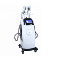 Professional double cryolipolysis cavitation RF machine for weight loss and skin tightening