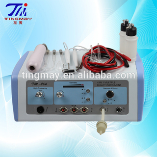 Beauty Salon Equipment For Blackhead Remover Vacuum And Facial Mist Spray high frequency galvanic machine tm-264