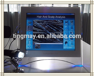 2017 Latest touch screen Hair Analyzer hair analysis machine
