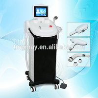 Salon 1064nm & 532nm Nd Yag Laser Tattoo Removal Machine ipl laser machine for hair removal