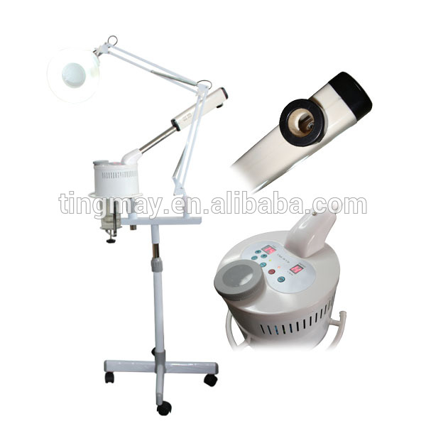 Ozone Facial Steamer With Magnifying Lamp