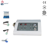 3 in 1 ultrasonic face lift hot and cold hammer Diamond Microdermabrasion Machine