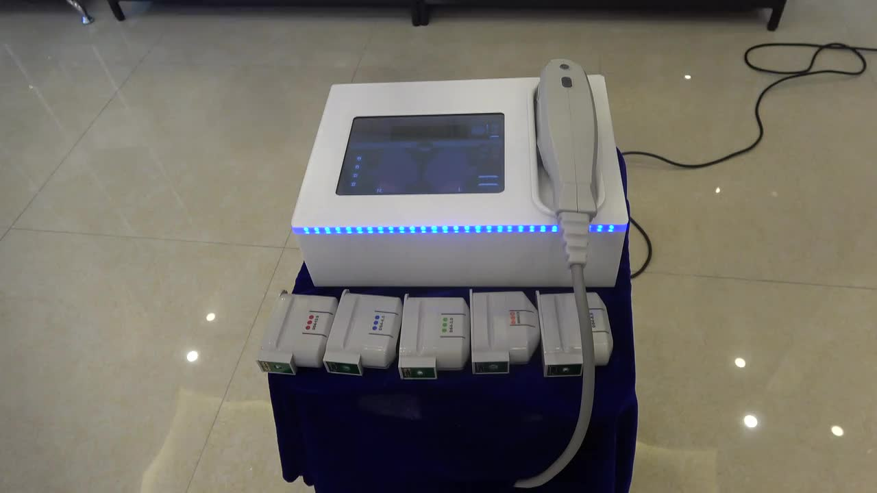 New portable mini hifu machine for face lift and body skin tightening