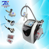 Portable criolipolisis machine cavitation fluid press therapy diode laser slimming machine TM-908