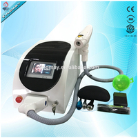 TM-J107 portable easy operation tattoo removal1064 nm 532nm nd yag laser
