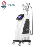 Fast delivery time cryolipolysis machine portable, radio frequency cryo system, ultrasonic cavitation cryo vacuum