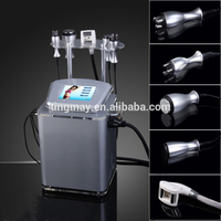 slimming body shaping machine auto-roller+vacuum+RF+40KHZ 5 in 1 cavitation slimming machine