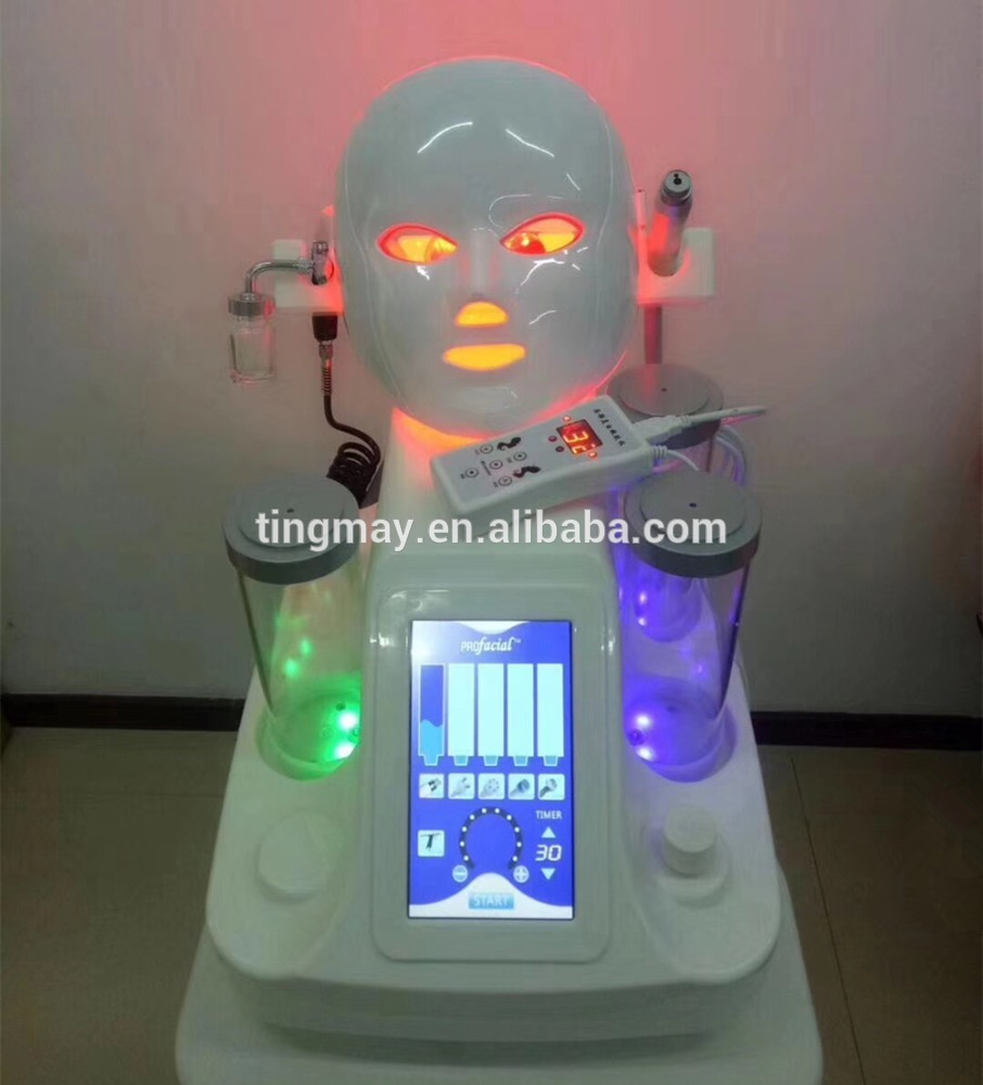 ultrasonic rf face lift water aqua spa hydrodermabrasion machine